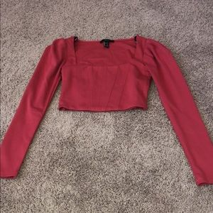 Size small crop top from forever 21